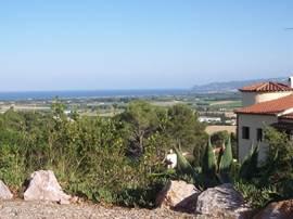 Dit is een prachtig panoramisch uitzicht vanuit het dakterras.