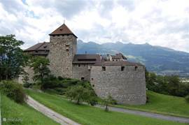 The royal castle in Liechtenstein. Liechtenstein and Switzerland are easily accessible within 30 minutes. Italy is 1 hour away.