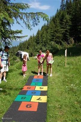 Plenty of organized tours for smaller children so that they too much fun to walk in the mountains can experience.