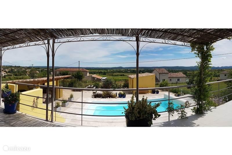 Vacation rental France, Ardèche, Saint-Sauveur-de-Cruzières Villa La Koste