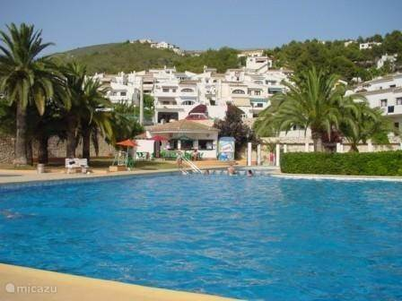 Vacation rental Spain, Costa Blanca, Moraira studio Puig 5
