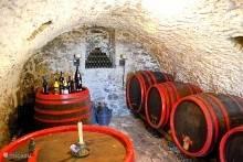 200 jaar oude wijnkelder