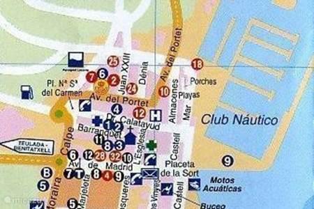 Activiteiten en Sightseeing in de buurt van Casa Emily te Moraira