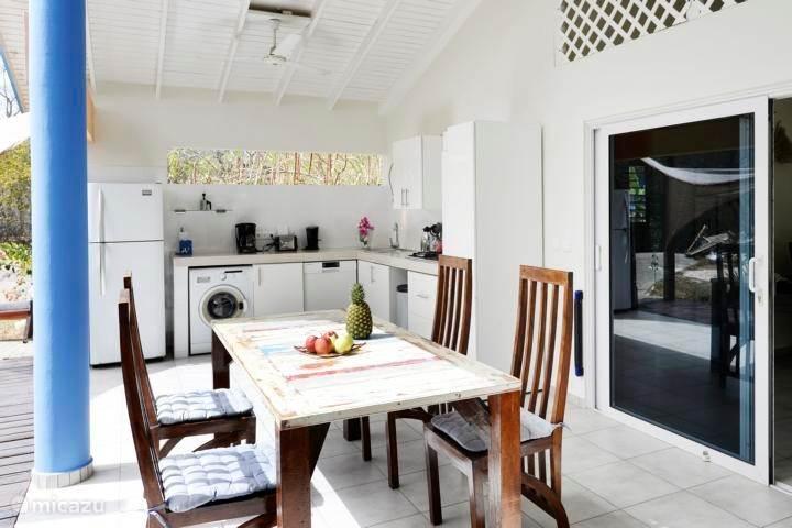 Vacation rental Curaçao, Banda Abou (West), Barber Holiday house Tikki-Balu