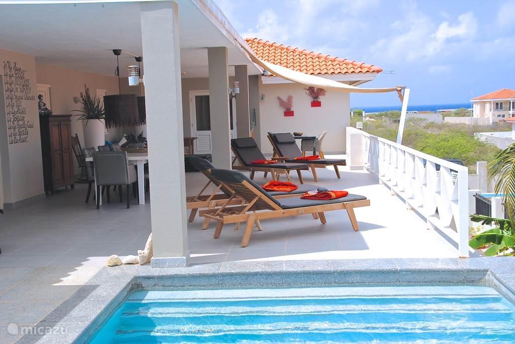 Vakantiehuis Curaçao, Banda Ariba (oost), Jan Thiel villa Dushi Vistaroyal Curacao