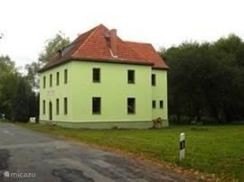 De groene dobbelsteen Brückenschenke.