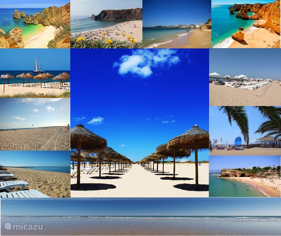 De mooiste stranden zijn in de Algarve