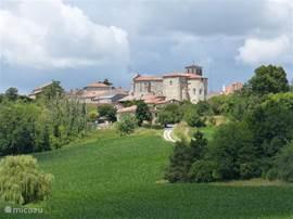 Het dorpje Brossac