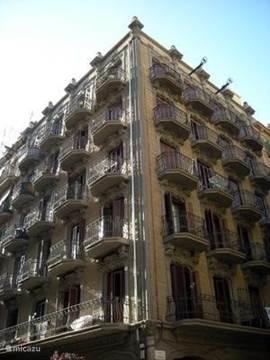 aanzicht van het gebouw.