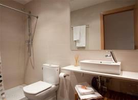 2e aparte badkamer