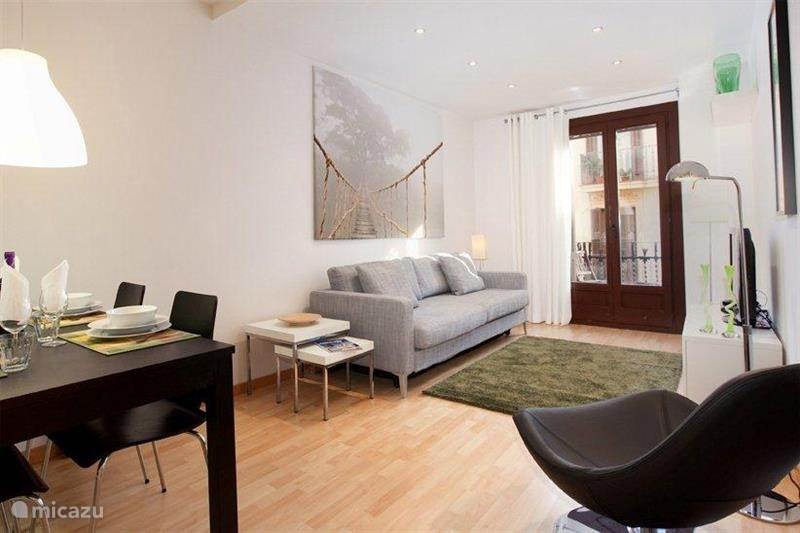 Vakantiehuis Spanje, Barcelona, Barcelona - appartement Montjuic Park 2