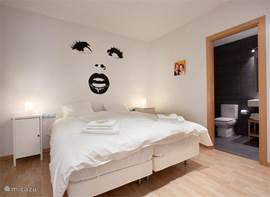 masterbedroom met ensuite badkamer