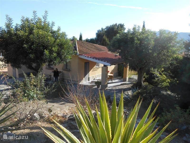 Vakantiehuis Spanje, Costa Blanca, Jalon villa Villa Jardin