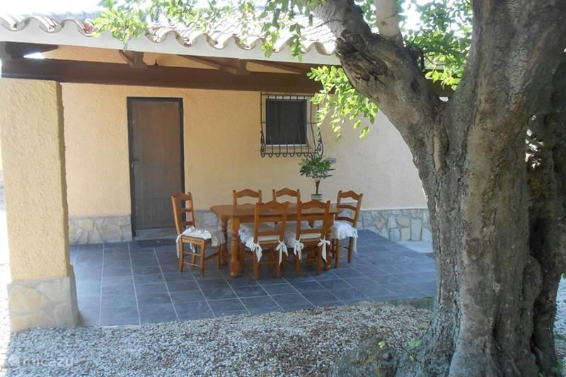 Vakantiehuis Spanje, Costa Blanca, Jalón Villa Villa Jardin met gedeeld zwembad