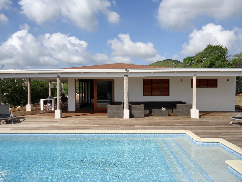 Curacao, Villa Piscadera, villa met prive zwembad, min. lopen van het strand. Speciale prijs ivm annulering 11-30 juni € 140,- excl.