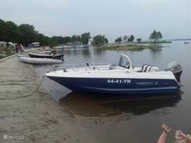 Te huur motorboot Quicksilver 500 met 60pk motor. vaarbewijs noodzakelijk.