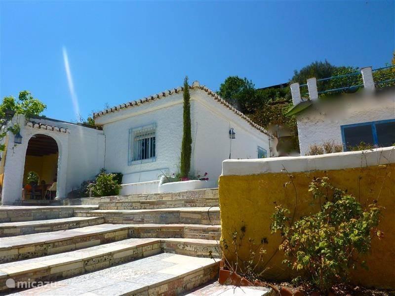 Vakantiehuis Spanje, Andalusië, Salobrena Vakantiehuis Cortijo Luz de Luna