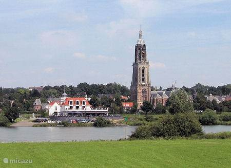 Het mooie stadje Rhenen aan de Rijn