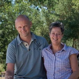 Geert en Iris Franken