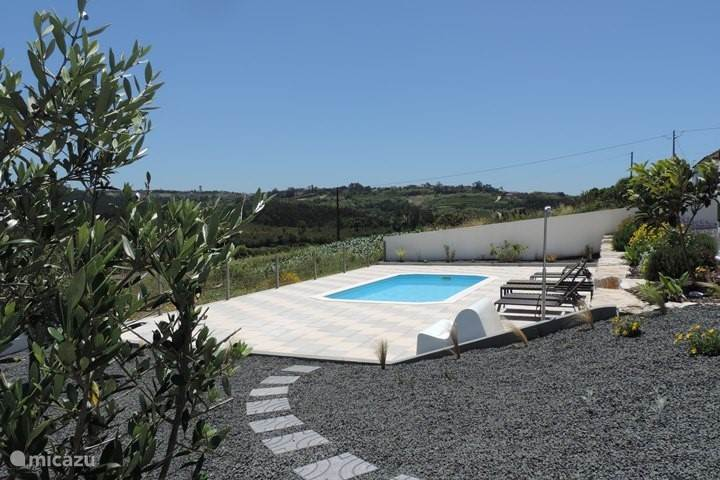 Het zwembad van Casa Limão