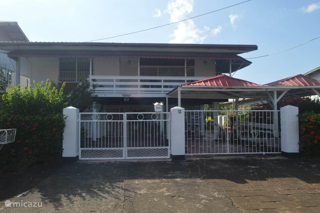 Vakantiehuis Suriname – appartement Casa Magdalena(Nabij Centrum)