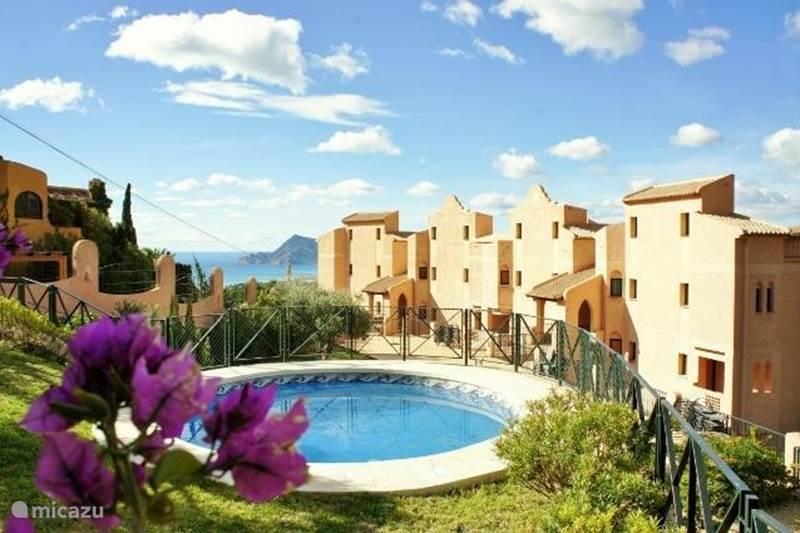 Vakantiehuis Spanje, Costa Blanca, Altea la Vieja Appartement La Villa en Rose