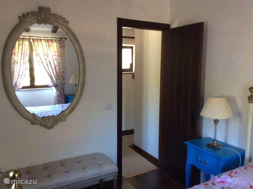 Tweede slaapkamer boven met 'double bed'