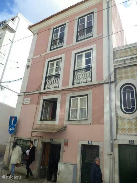 Vakantiehuis Portugal, Lissabon – appartement Appartement in hartje van Lissabon