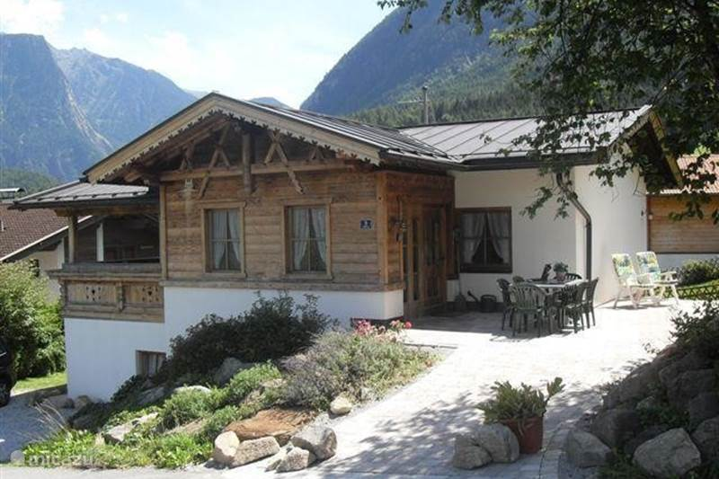 Vacation rental Austria, Tyrol, Sautens Holiday house 'Seppl's Ferienhaus' with own sauna