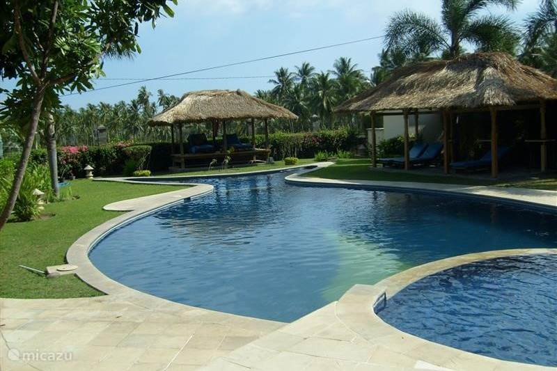Vakantiehuis Indonesië, Lombok, Senggigi Villa Sunset Villa, luxe villa, Lombok