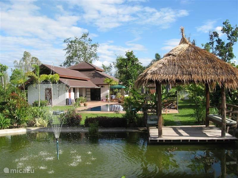 Vakantiehuis Thailand, Noord Thailand, Chiang Mai villa Villa Farang