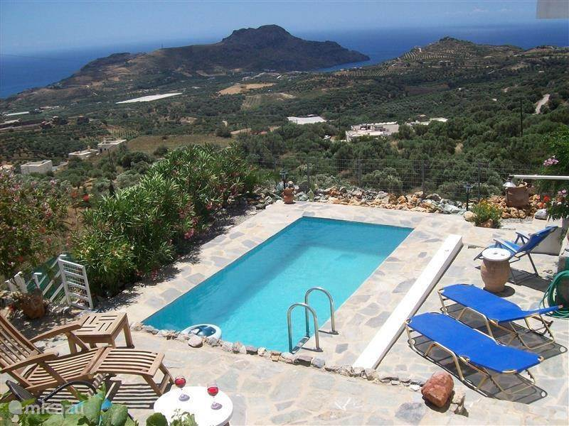 Vacation rental Greece – holiday house Holidayhouse Panorama Crete