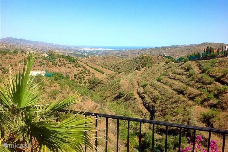 Vakantiehuis Spanje, Costa del Sol, Comares Villa Villa Comares Andalucia met Zwembad