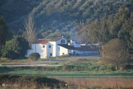Quinta Alfaval gezien vanaf het dorp Bencatel