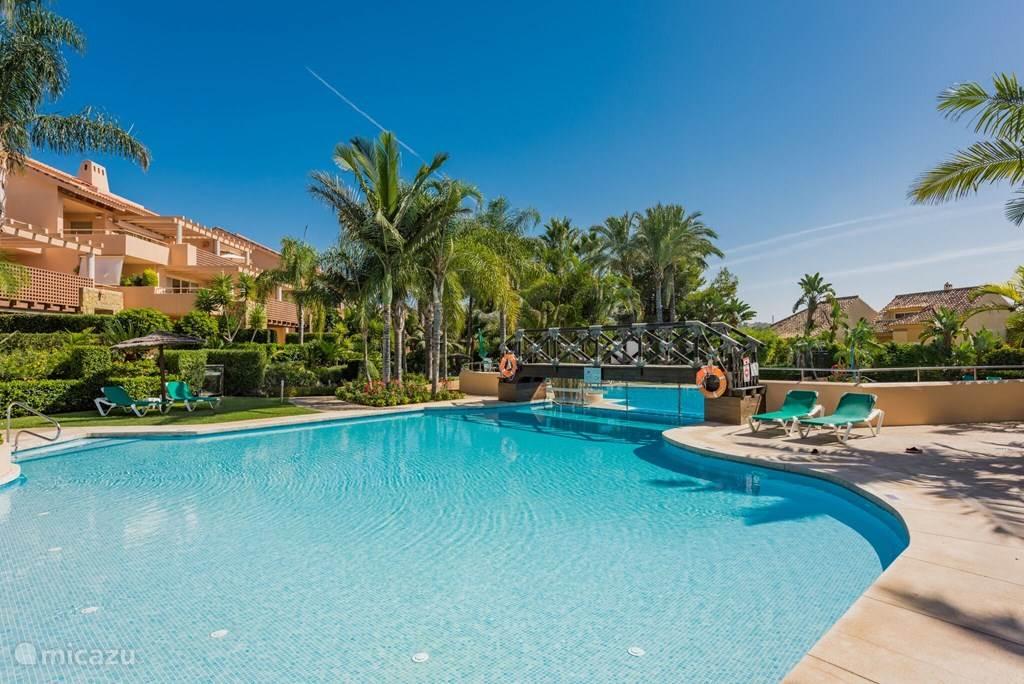 Vakantiehuis Spanje, Costa del Sol, Marbella appartement Apt. Golf Gardens Marbellla