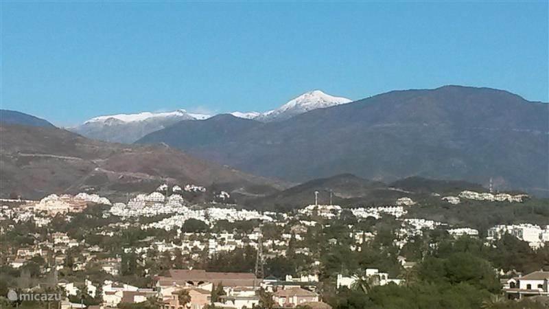 Skieen in de Sierra Nevada