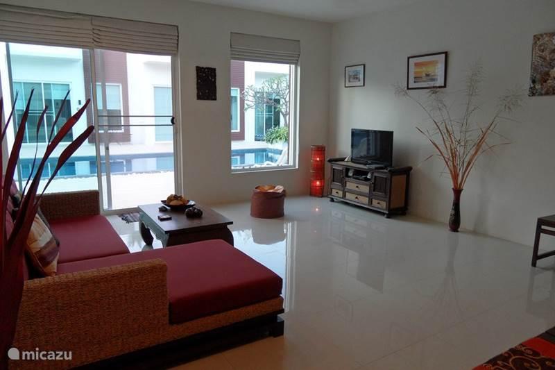 Vakantiehuis Thailand, Centraal-Thailand, Sam Roi Yot Beach Geschakelde woning Coconut Suite