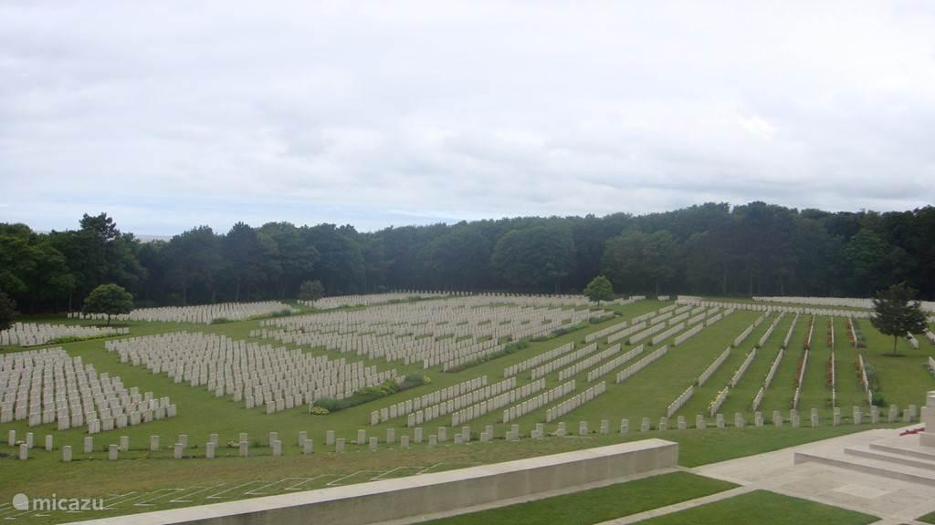 Militaire begraafplaats in Etaples