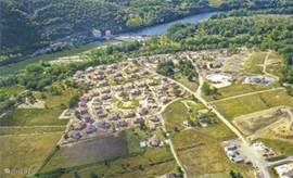 luchtfoto villapark