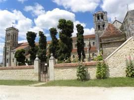 beroemde basiliek St Madeleine te Vezelay