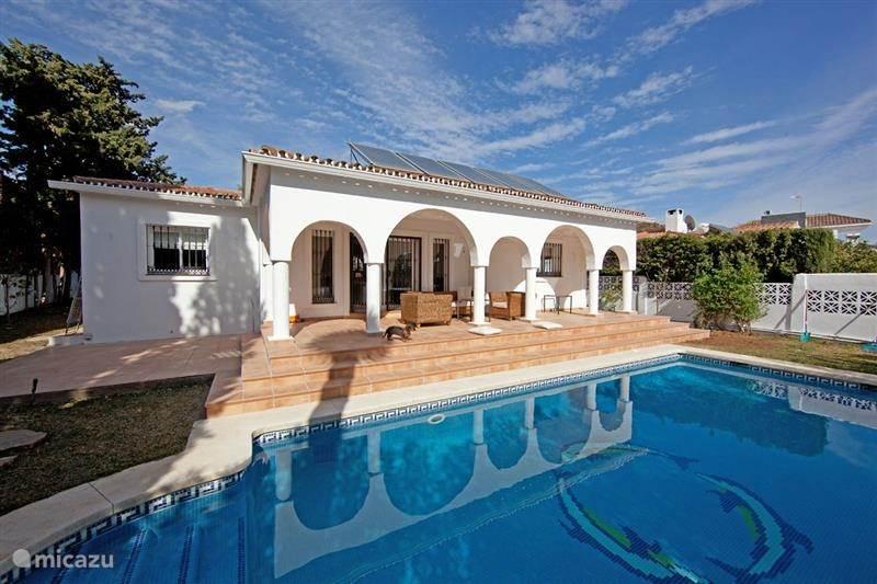Vakantiehuis Spanje, Costa del Sol, Marbella villa Strand villa Costabella