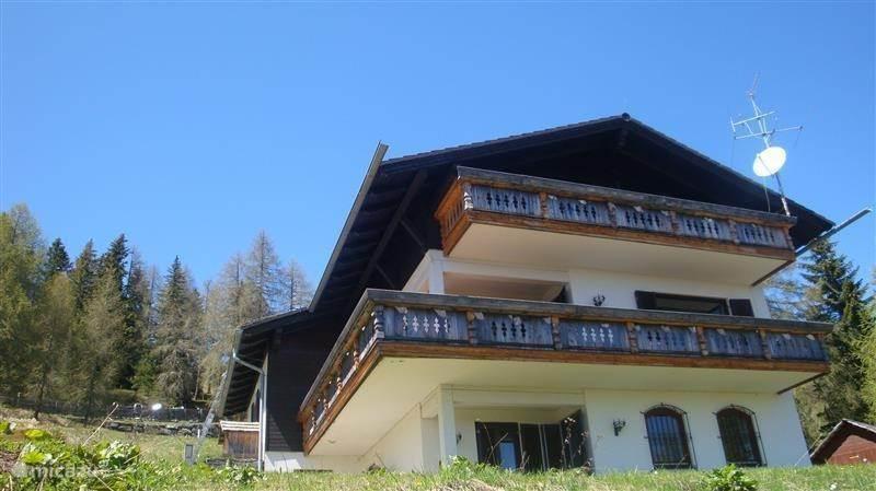 Vakantiehuis Oostenrijk, Karinthië, Hochrindl Appartement Villa Alpenblick Gästehaus