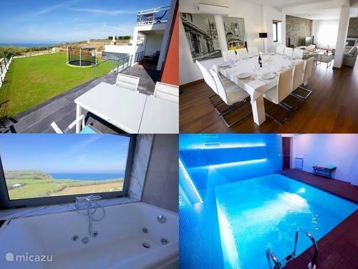 Vakantiehuis Portugal, Lissabon Kust, Ericeira - villa Luxe villa, Ericeira, Zwembad, Zee