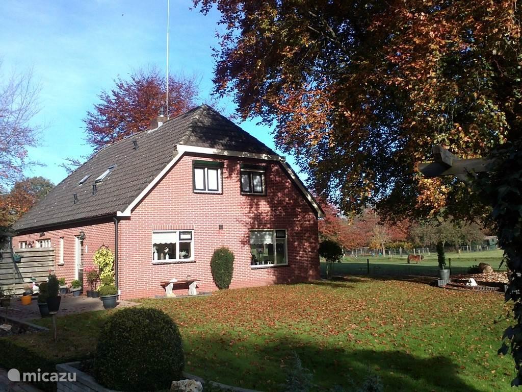 Vakantiehuis Nederland, Gelderland, Oldebroek Vakantiehuis Boerderij De Bruine Beuk