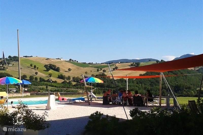 Vakantiehuis Italië, Marche, Pergola Appartement Casale Eline