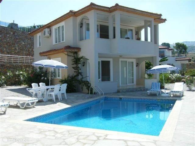 Vakantiehuis Turkije, Turkse Rivièra, Kargicak Villa Villa Maria met zwembad
