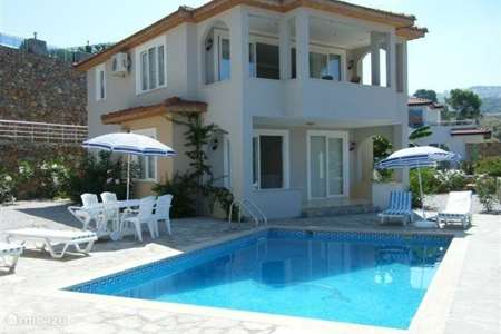 Vakantiehuis Turkije, Turkse Rivièra, Kargicak villa Villa Felix met privézwembad
