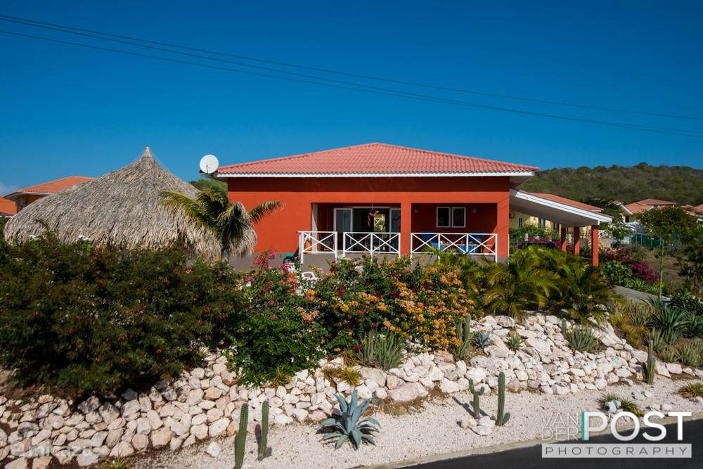 Vakantiehuis Curaçao, Banda Abou (west), Fontein Villa Luxe villa Sono Karibe met zwembad