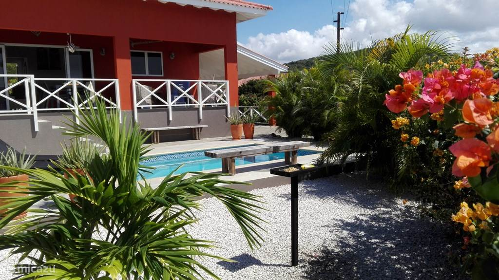 Vacation rental Curaçao, Banda Abou (West), Fontein Villa Sono Karibe villa with swimming pool