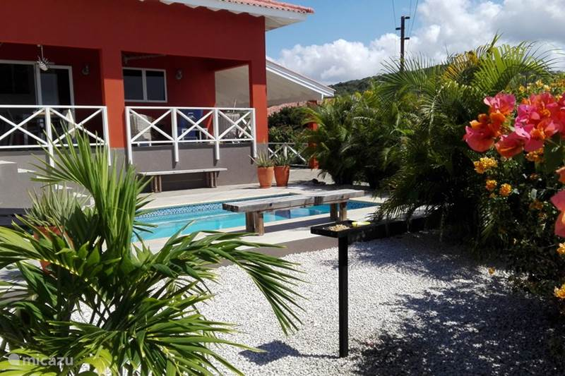Vacation rental Curaçao, Banda Abou (West), Fontein Villa Soño Karibe with swimming pool
